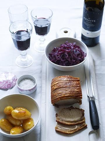 Dansk fleskestek med vin Julemiddag