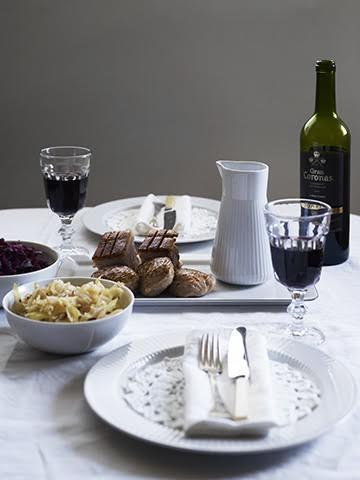 Ribbemidag med vin