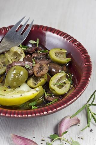 Tapas sitrusbaktete olivener