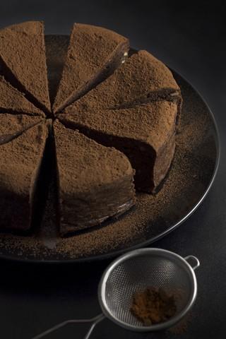 Mørk sjokoladekake