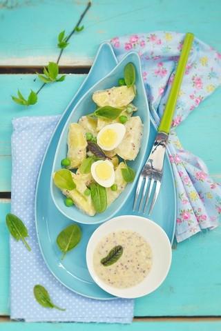 Potetsalat med yoghurtdressing