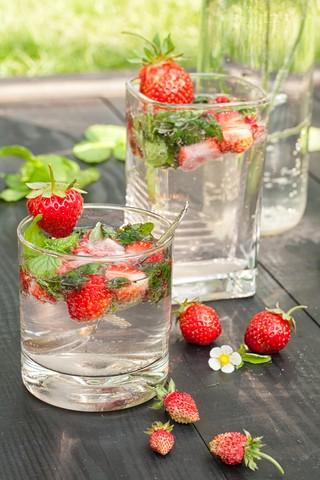 Jordbærmojito Jordbær Mojito