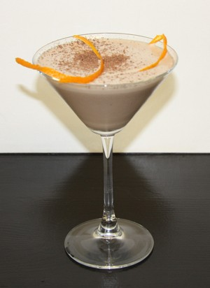 Amarula Ginger Mint Martini