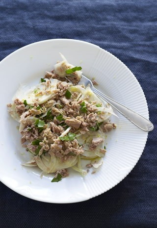 Tunfisksalat med fennikel