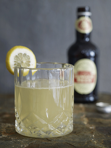Swedish Aquavit Mule