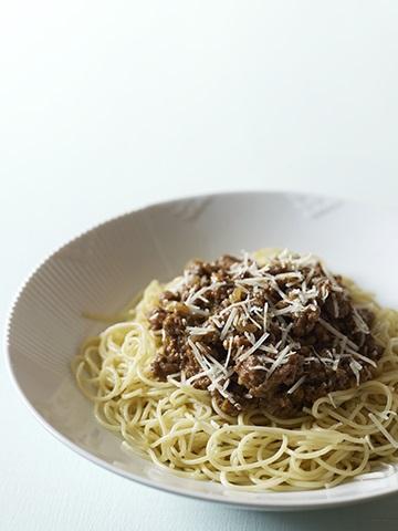 Spagetti med kjøttsaus