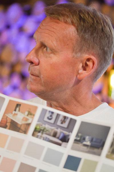 Per Nimer, designsjef i Nordsjö, ser at det kommer mer farger inn i norske hjem.
