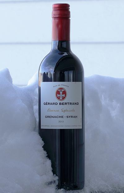 God og bærekraftig rødvin Gérard Bertrand Reserve Spéciale 2015