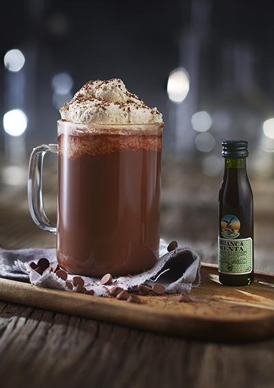 Varm kakao med Fernet Branca Menta