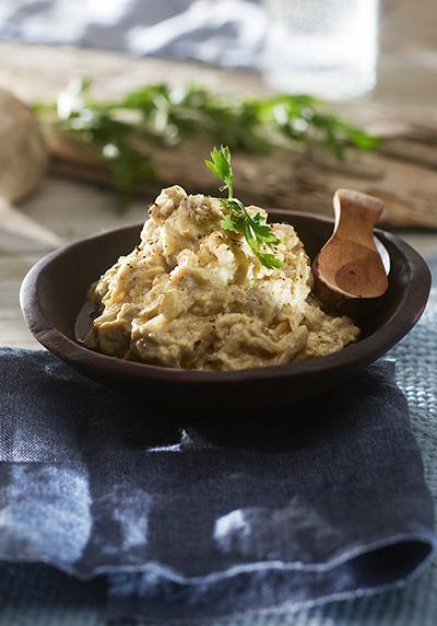 Baba Ganouch Aubergine salat