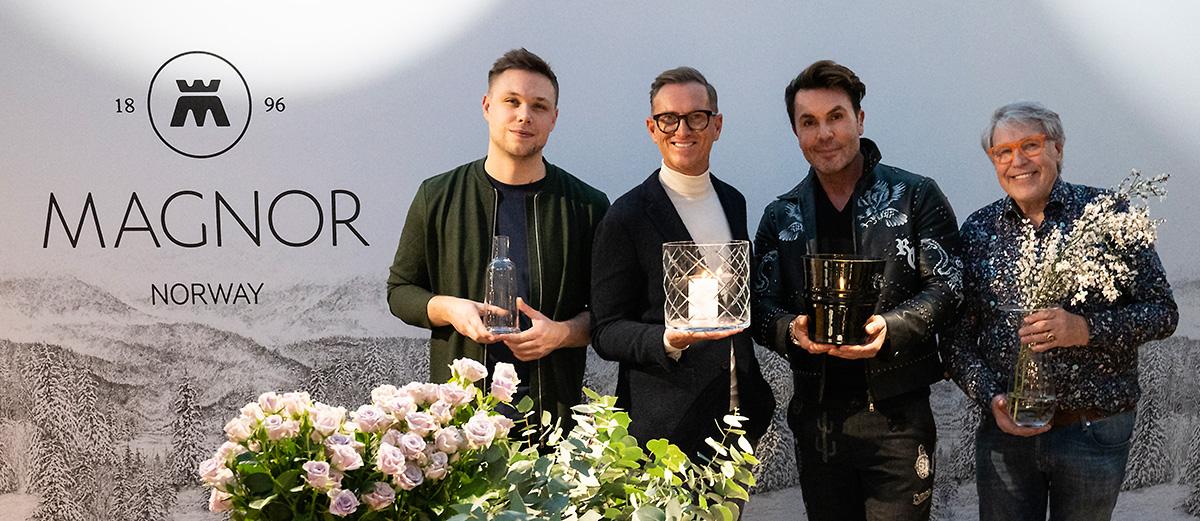 Kjøkkenet oser personlighet i 2019 vårnyheter med Bjørn Van Den Berg Halvor Bakke Jan Thomas og Finn Schjøll