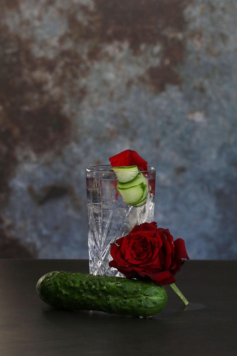 Hendrick`s gin & tonic rose