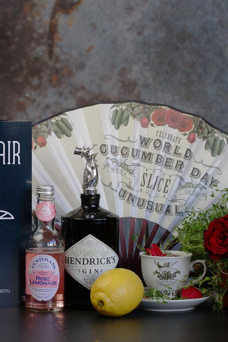The Rose Hendrick`s gin