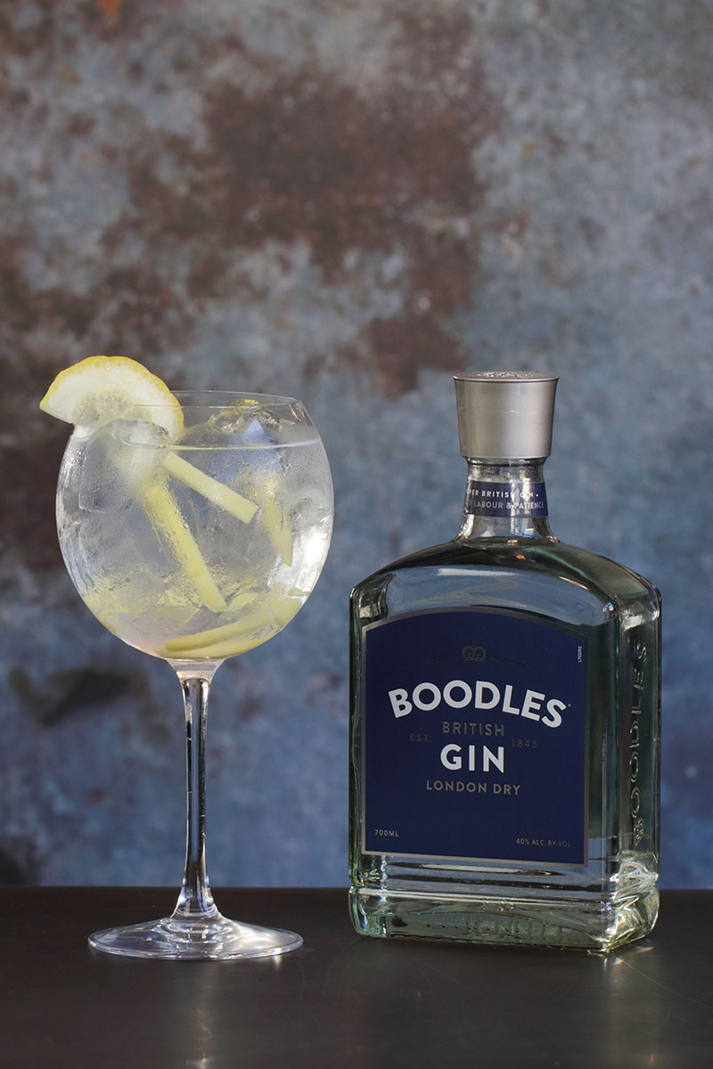 Boodles propper gin & tonic Oslo Ginfestival