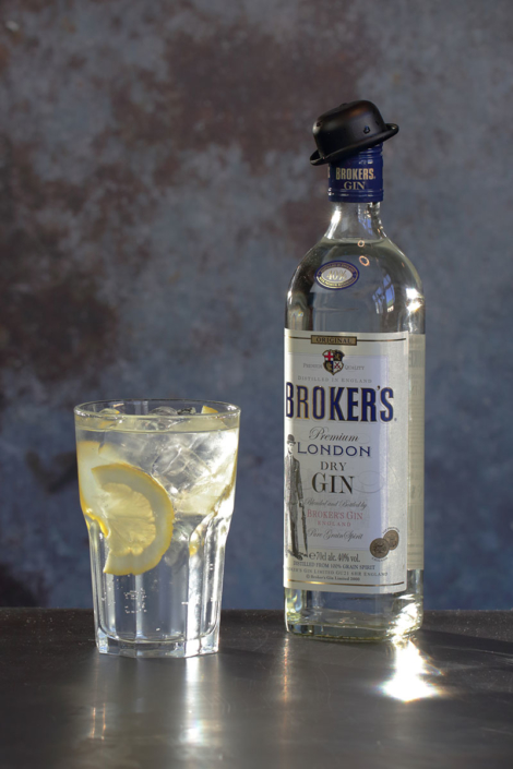Brokers gin & tonic Oslo Ginfestival