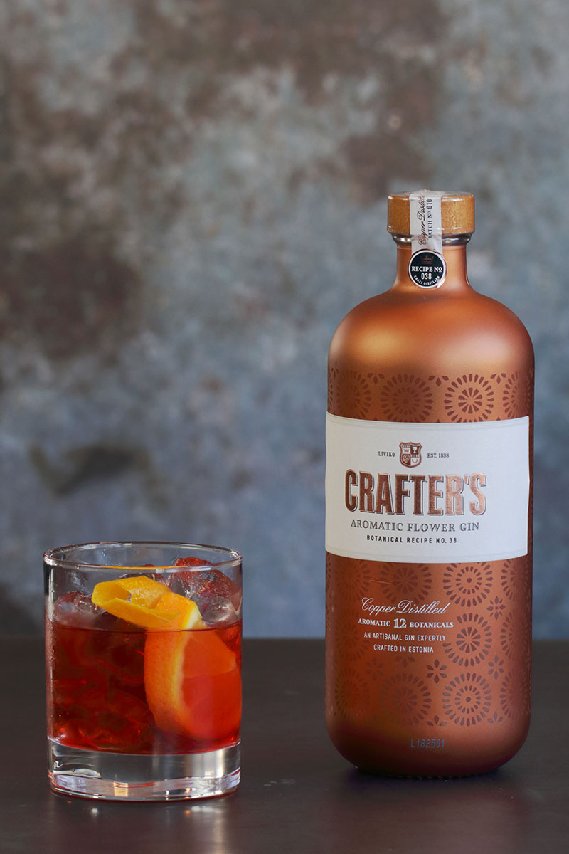 Crafters Aromatic Negroni Fiore Oslo Ginfestival