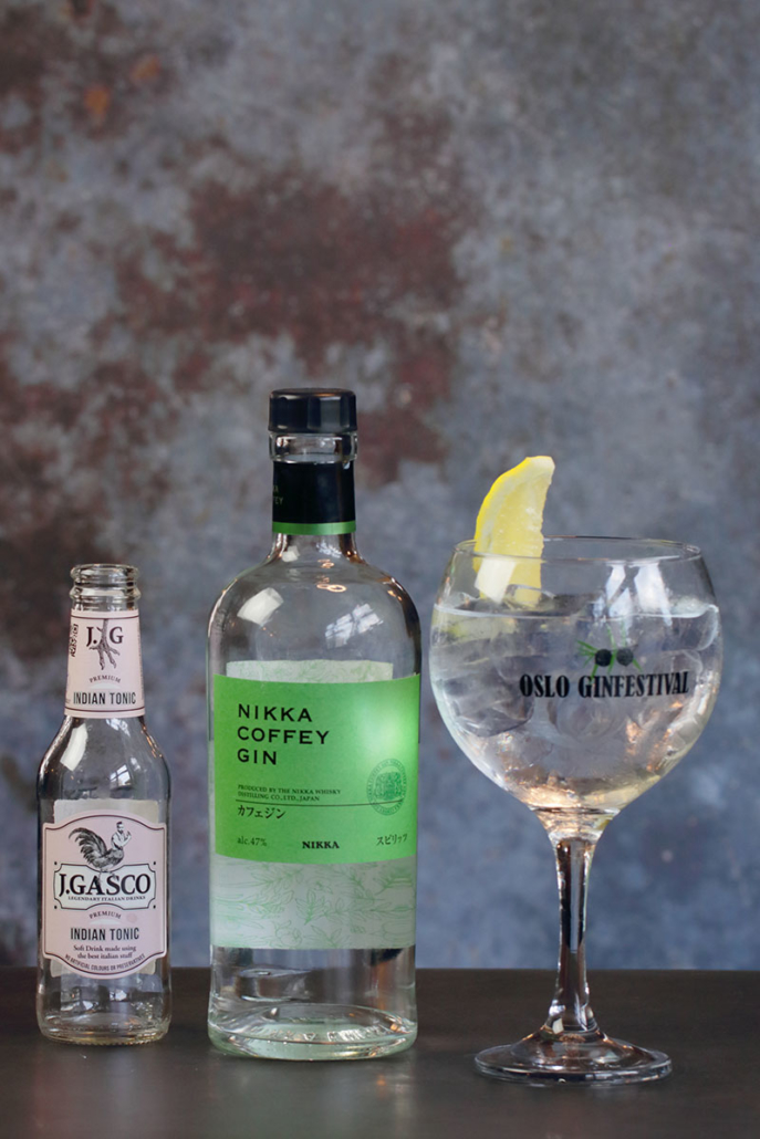 Nikka Gin & Tonic Oslo Ginfestival