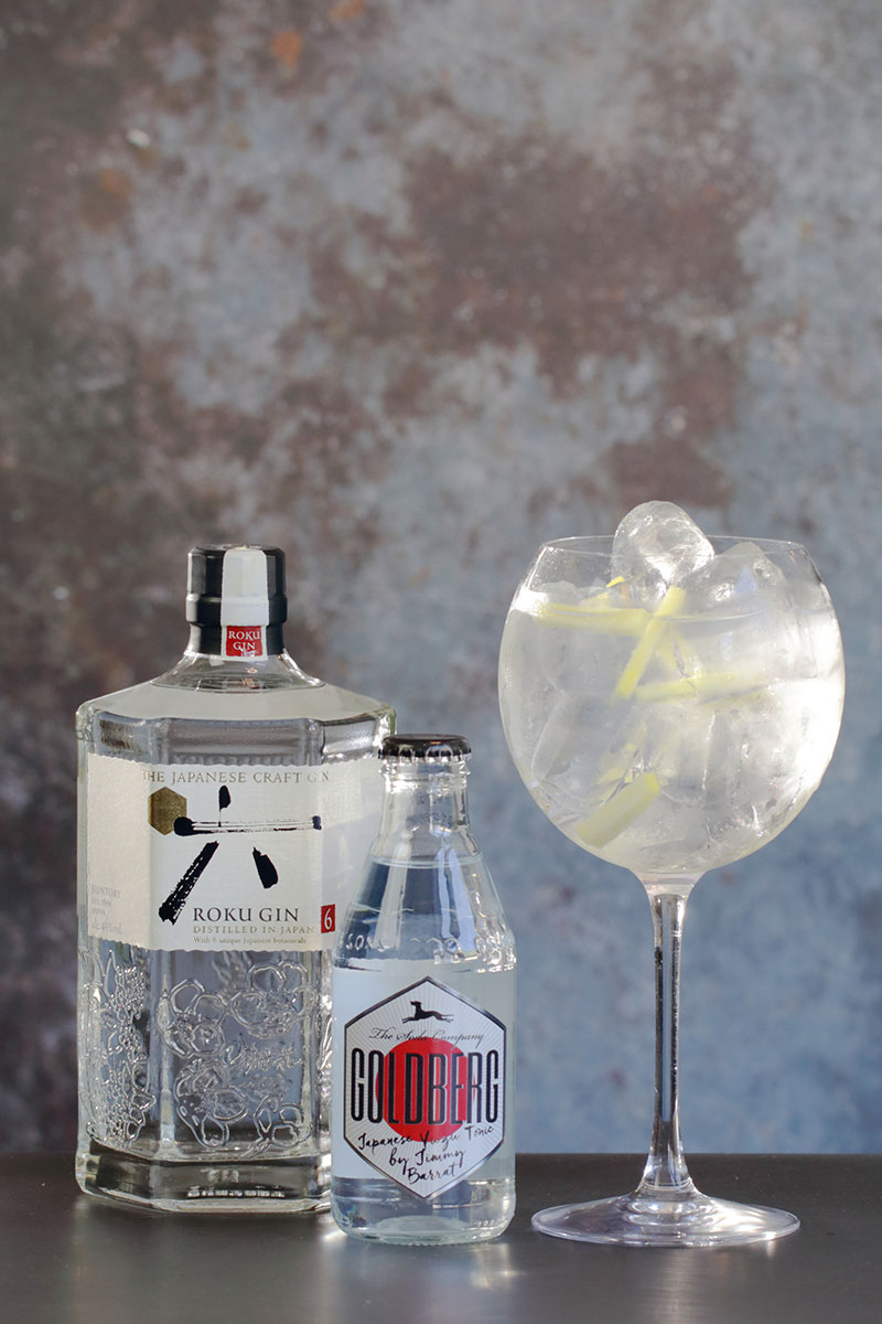Roku Gin & Tonic med ingefær
