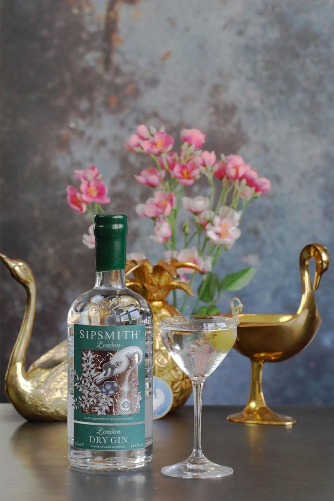 Sipsmith Dry Martini med oliven Yunus Yildiz Svanen Oslo