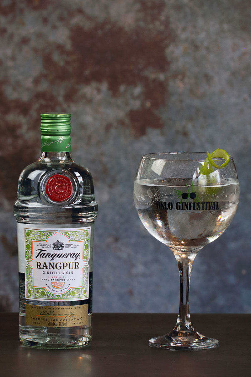 Tanqueray Rangpur & tonic Oslo Ginfestival